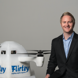 Matthew Sweeny, Founder and CEO of Flirtey, Talks about an Accelerated Regulatory Approval for Delivery Drones